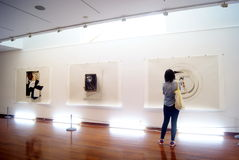 Shenzhen, china: art exhibition Stock Photography