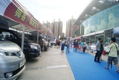 Shenzhen, China: Automobile Exhibition Stock Photo