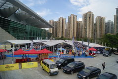 Shenzhen, China: Automobile Exhibition Stock Image