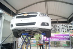 Shenzhen, China: automobile exhibition sales activities Stock Photography