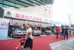 Shenzhen, China: automobile exhibition sales activities Royalty Free Stock Photography