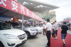 Shenzhen, China: automobile exhibition sales activities Stock Photo