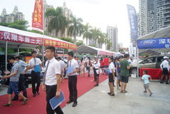 Shenzhen, China: automobile exhibition sales activities Royalty Free Stock Images