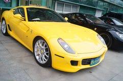 Shenzhen, China: automobile exhibition sales Stock Photos