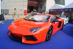 Shenzhen, China: automobile exhibition sales Royalty Free Stock Image