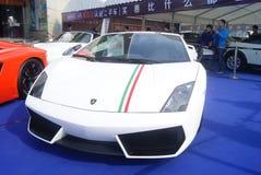 Shenzhen, China: automobile exhibition sales Stock Images