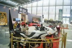 Shenzhen, China: automobile exhibition sales Stock Photography
