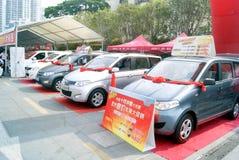 Shenzhen china: automobile exhibition sales Stock Photos