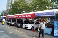 Shenzhen china: automobile exhibition sales Royalty Free Stock Photos