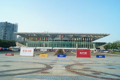 Shenzhen, China: autotentoonstellingsverkoop Stock Foto's