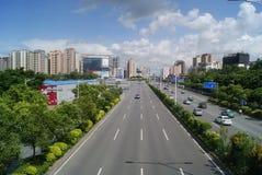 Shenzhen, China: Baoan Avenue Royalty Free Stock Photos