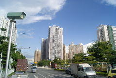 Shenzhen, China: Baoan Avenue Stock Image