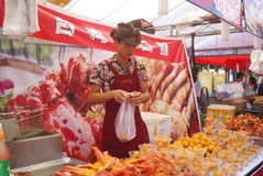 Shenzhen china: baoan food festival Stock Image