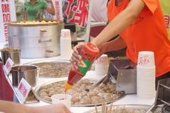 Shenzhen china: baoan food festival Royalty Free Stock Photos