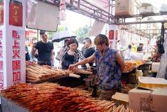 Shenzhen china: baoan food festival Stock Photos