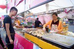 Shenzhen china: baoan food festival Stock Photo