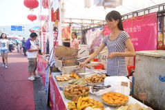 Shenzhen china: baoan food festival Stock Images