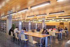Shenzhen, china: baoan library 's open Stock Photo