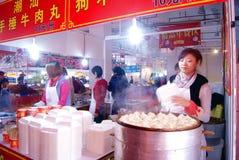 Shenzhen china: baoan shopping festival Royalty Free Stock Images