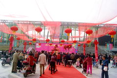 Shenzhen, china: baoan spring festival shopping festival Stock Photos