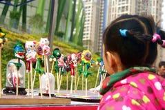 Shenzhen, china: baoan spring festival shopping festival Stock Image