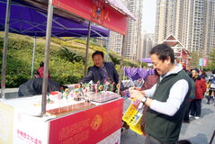 Shenzhen, china: baoan spring festival shopping festival Stock Photography