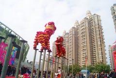 Shenzhen, china: baoan spring festival shopping festival Stock Photography