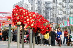 Shenzhen, china: baoan spring festival shopping festival Royalty Free Stock Photo