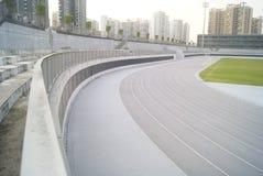 Shenzhen, china: baoan stadium Royalty Free Stock Photography