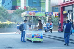 Shenzhen, China: barbecue stall Stock Images