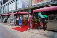 Shenzhen, China: barlandschap Stock Fotografie