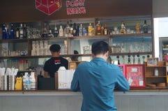 Shenzhen, China: barlandschap Royalty-vrije Stock Fotografie