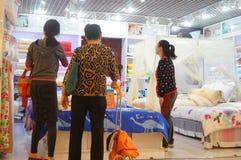 Shenzhen, China: bedding shop Royalty Free Stock Image