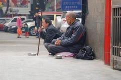 Shenzhen, China: beggars Stock Images