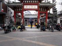Shenzhen, China: beggars Royalty Free Stock Images