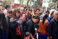 Shenzhen, China: Body Painting Royalty Free Stock Photos