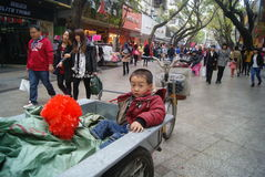 Shenzhen, China: boy Royalty Free Stock Images