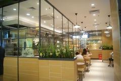 Shenzhen, China: bread and cake shop stock photo