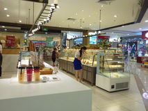 Shenzhen, China: bread and cake shop Stock Photos