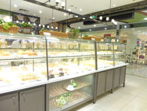 Shenzhen, China: bread and cake shop Royalty Free Stock Image