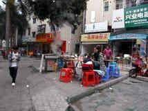 Shenzhen, China: Breakfast stall Royalty Free Stock Photo