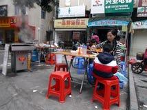Shenzhen, China: Breakfast stall Stock Photo