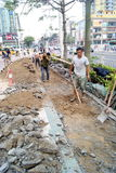 Shenzhen china: build roads stock photos