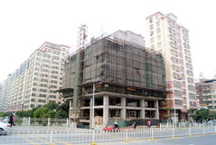 Shenzhen china: in built the house Royalty Free Stock Photo