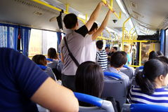 Shenzhen, china: bus Stock Photography