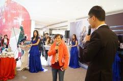 Shenzhen, China: Business Promotions Stock Photo