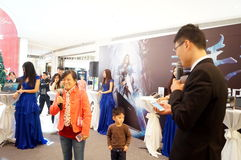 Shenzhen, China: Business Promotions Stock Photos