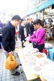 Shenzhen china: buy local snacks Stock Photography