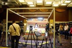 Shenzhen, china: canon camera experience activities Stock Photos