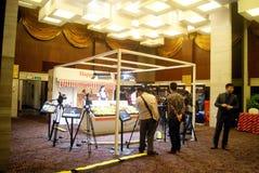 Shenzhen, china: canon camera experience activities Royalty Free Stock Image